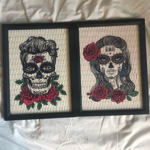 Day of the dead frames